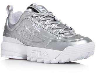 Fila Women's Disruptor II Premium Low-Top Dad Sneakers