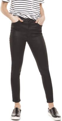 Dex Black Wax Skinny Jeans