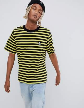Cheap Monday Stripe Logo T-Shirt