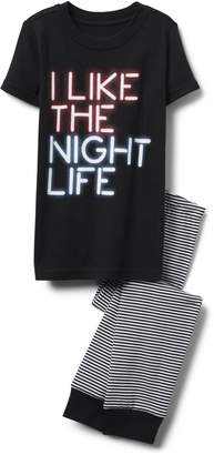 Crazy 8 Crazy8 Night Life 2-Piece Pajama Set