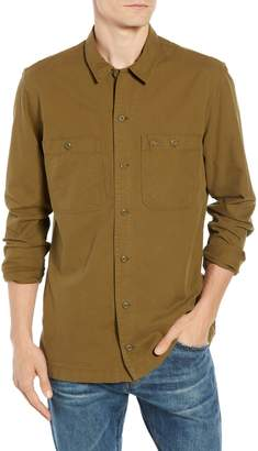 Lacoste Regular Fit Lightweight Cotton Flannel Shirt