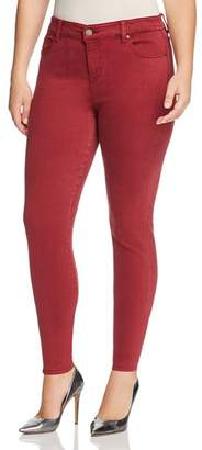 Liverpool Plus Abby Skinny Jeans in Biking Red