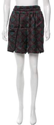 Dries Van Noten High-Rise Knee-Length Shorts w/ Tags