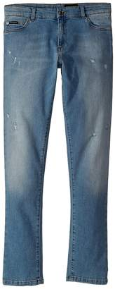 Dolce & Gabbana Five-Pocket Trousers Boy's Jeans