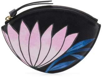 Chloé flower zipped wallet