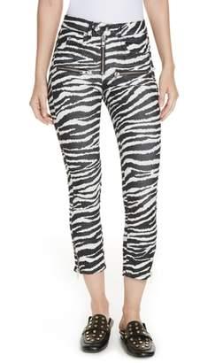 Etoile Isabel Marant Alone Moto Jeans