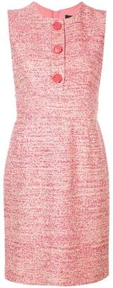 Paule Ka short sleeveless dress