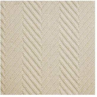 Pottery Barn Fibreworks®; Custom Textured Chevron Wool Rug - Ivory