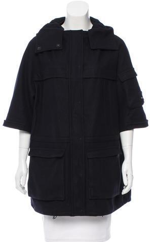 Miu MiuMiu Miu Wool Short Coat