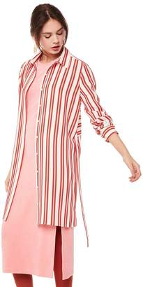 Juicy Couture Bold Stripe Shirtdress