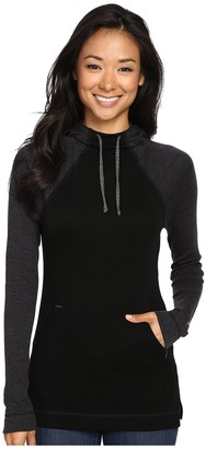 Smartwool NTS Mid 250 Drape Neck Hoodie $130 thestylecure.com