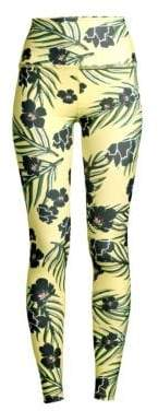 Beyond Yoga Olympus High-Waist Floral Leggings