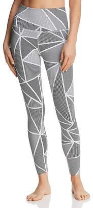Beyond Yoga Breakout High-Waist Jacquard Leggings