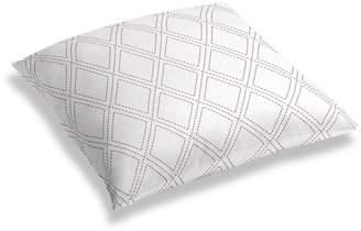 Loom Decor Simple Floor Pillow Diamonds Are Forever - Ash