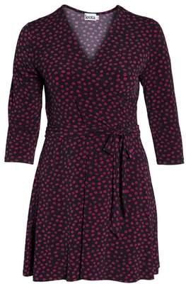 Leota Perfect Faux Wrap Jersey Dress