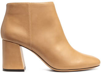 H&M Block-heeled ankle boots - Beige