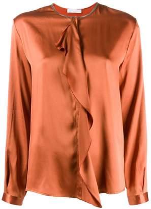 Fabiana Filippi ruffled detail blouse