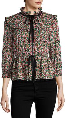 Anna Sui Strawberry Fields Jacket
