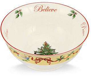 Spode Serveware, Annual Christmas Tree Revere Bowl