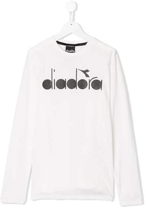 Diadora Junior TEEN logo printed T-shirt