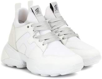 Hogan H487 leather sneakers