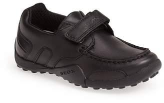 Geox 'Snake Moc 2' Leather Loafer