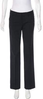 Theory Mid-Rise Wool Pants