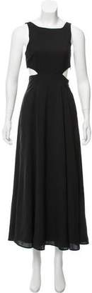 Mara Hoffman Cutout-Accented Maxi Dress