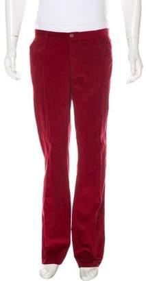 Malo Corduroy Straight-Leg Pants