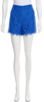 Diane von Furstenberg Fausta Lace Shorts