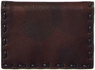John Varvatos Marble Stained Leather Card Holder