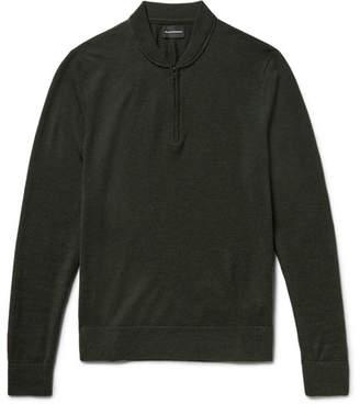 Club Monaco Slim-Fit Merino Wool Half-Zip Sweater