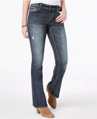 Vanilla Star Juniors' Ripped Bootcut Jeans