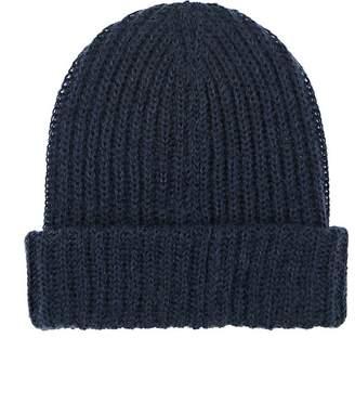 Barneys New York Men's Rib-Knit Mohair-Blend Beanie