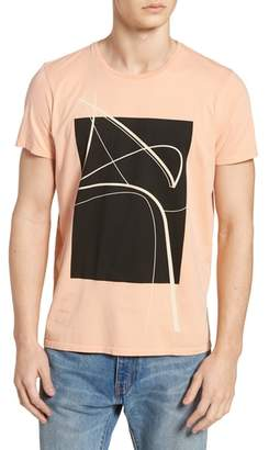 Vestige Curved Lines Graphic T-Shirt