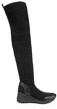 MICHAEL Michael Kors Women's Grover Knit Knee-High Boots