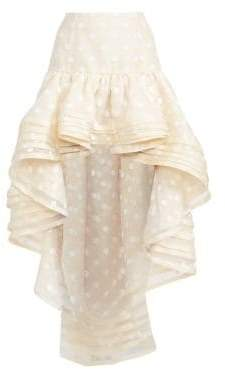 Marc Jacobs Women's Layered High-Low Skirt - Ivory - Size 0
