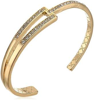 Laundry by Shelli Segal Split Pave Cuff Bracelet