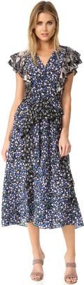 Rebecca Taylor Patch Print Dress $650 thestylecure.com