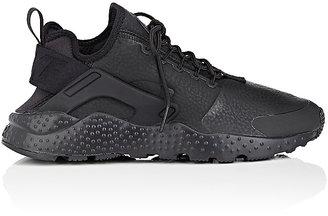 Nike Women's Air Huarache Run Ultra Premium Leather Sneakers $130 thestylecure.com