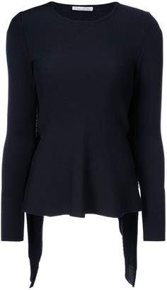 Oscar de la Renta cape-effect sweater