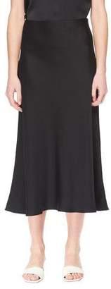 The Row Medela A-Line Long Silk Skirt