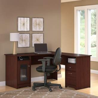 Hillsdale Red Barrel Studio L Shaped Computer Desk And Chair Set