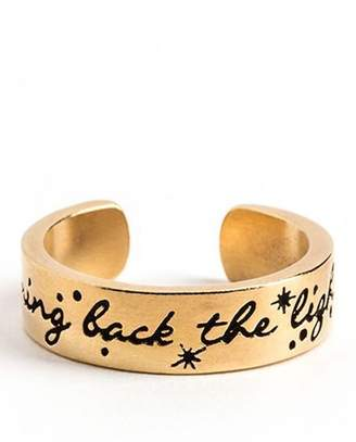 Alex and Ani Bring Back the Light Adjustable Ring