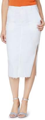Sam Edelman Maribelle Release Hem Midi Skirt