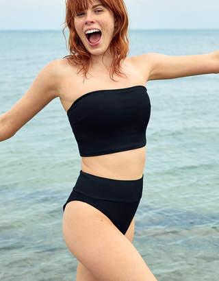 9f56321a90d1f Aerie Ribbed Longline Bandeau Bikini Top