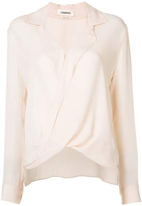 L'Agence twisted shirt