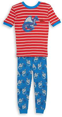 Petit Lem Little Boy's Two-Piece Pajama Top and Pants Set