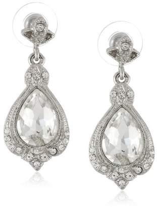 Nina 'Ani' Pear Crystal Drop Earrings