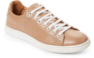 Marc Jacobs Light Brown Leather Low-Top Sneakers